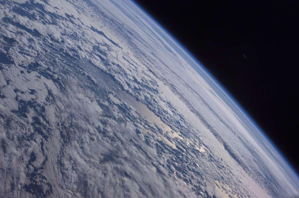 L'horizon terrestre vu de l'espace