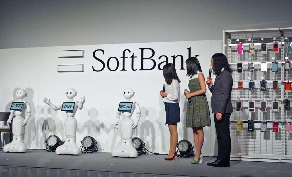 Pour Softbank, la création d'une boutique « Pepper Phone Shop » est avant tout une démonstration technologique et un coup de communication. © Aldebaran Robotics, SoftBank