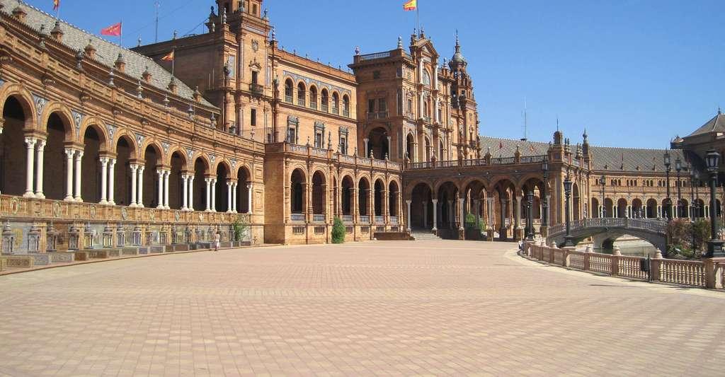 Plaza de España à Séville. © Roberto Chamoso G, Wikimedia, CC by-sa 3.0 ES