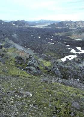 Coulée d'obsidienne, Landamannlaugar Iceland