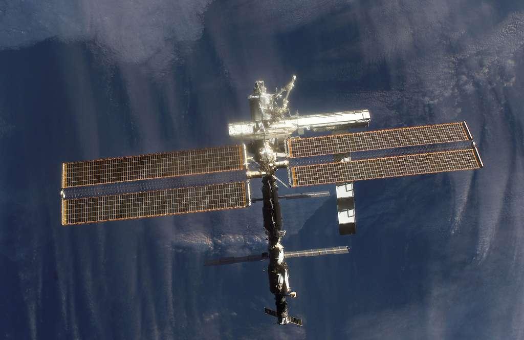 Octobre 2002 : Une mission pour intégré une nouvelle section de poutre