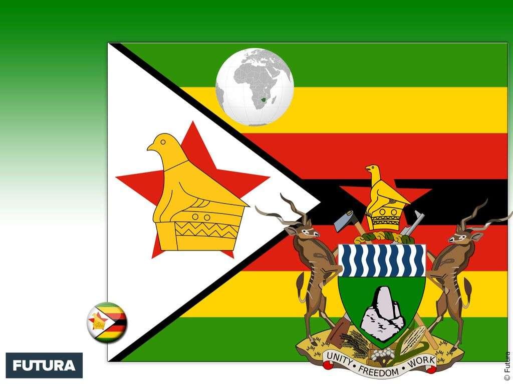 Drapeau : Zimbabwé