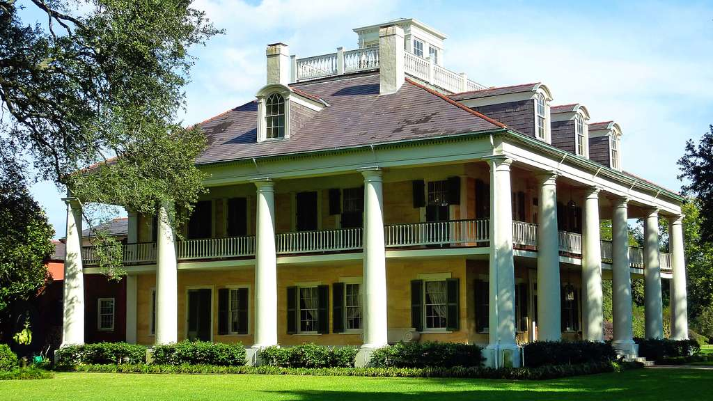 La plantation Houma, en Louisiane