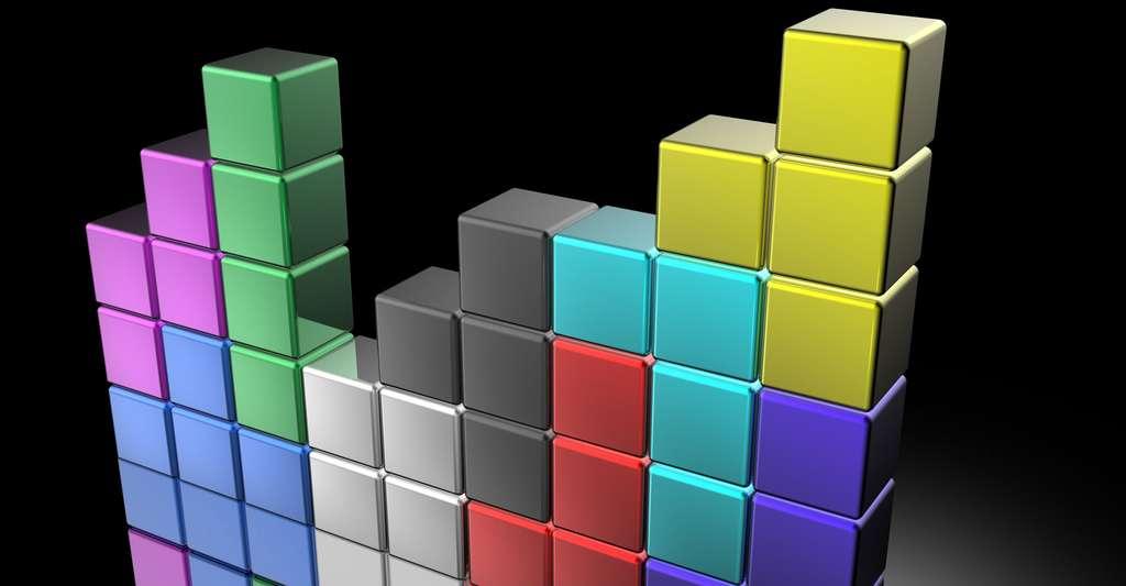 En 2002, des informaticiens américains quantifièrent la difficulté de Tetris. © Suravid, Shutterstock