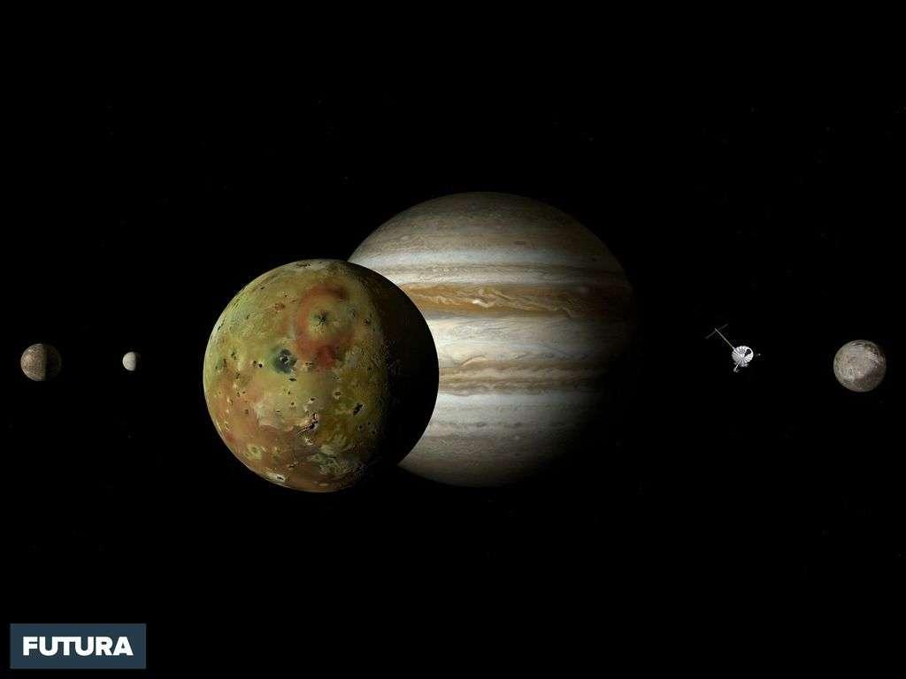 Planètes : Jupiter, Ios