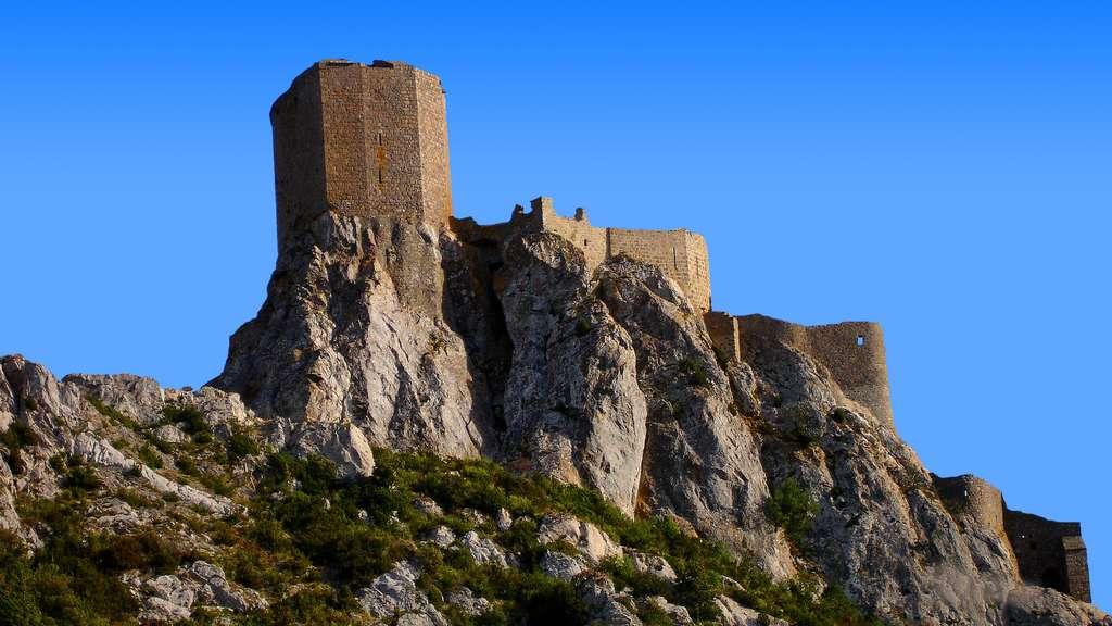 Le château de Quéribus, un bastion de la résistance cathare