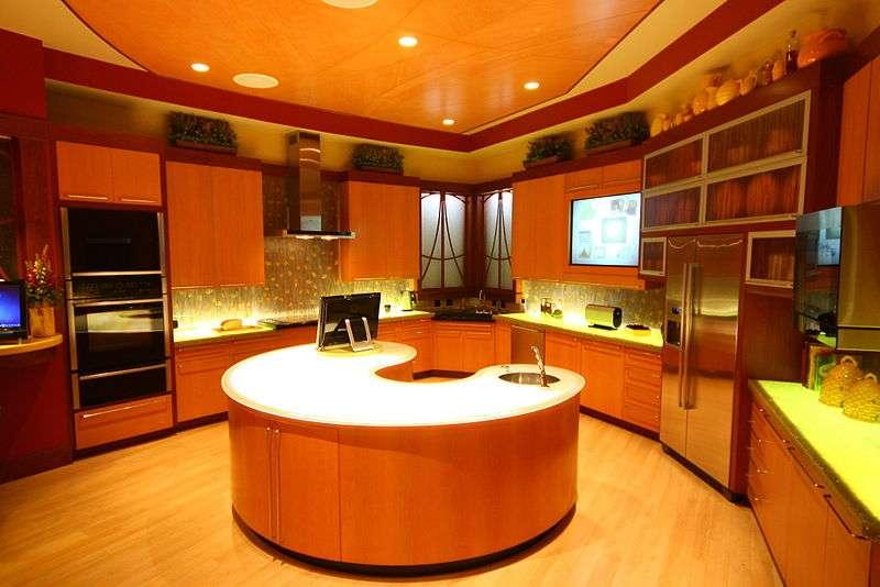 Une cuisine du futur originale