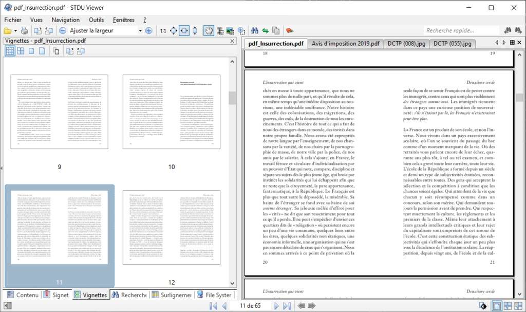 STDU Viewer peut être vu comme un couteau suisse de la lecture de fichiers en bureautique. © STDUtility.com