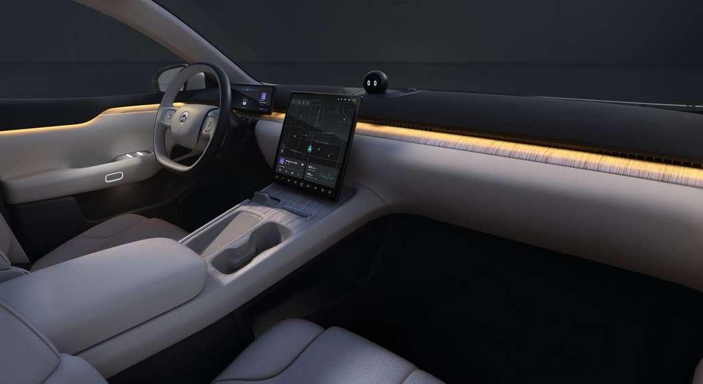La Nio ET7 est équipée d'un système audio 1.000W avec pas moins de 23 haut-parleurs. © Nio