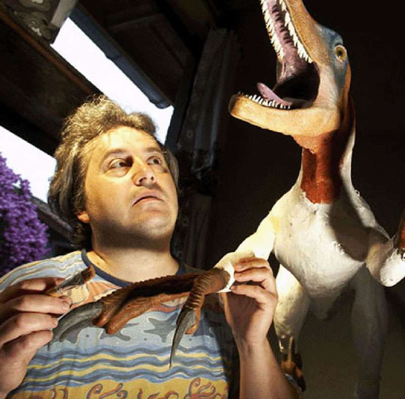 Michel Fontaine et le variraptor