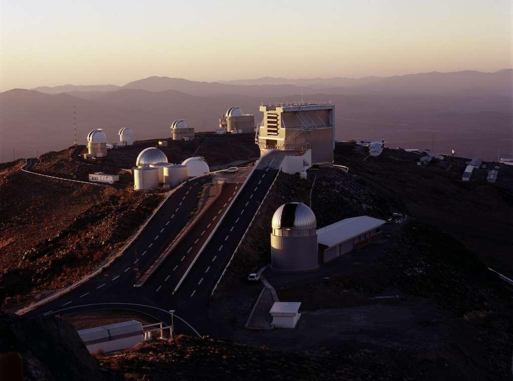 L'observatoire de La Silla, au Chili. © ESO