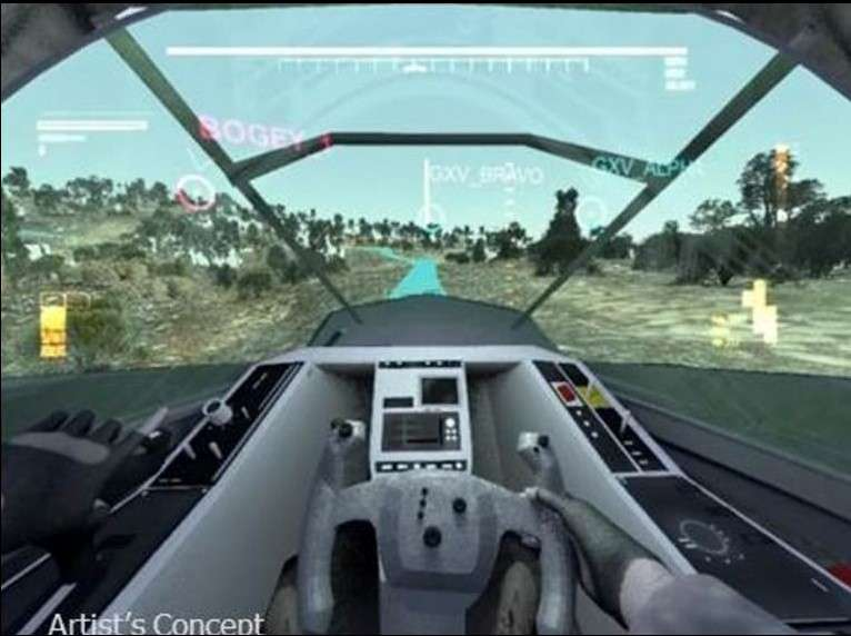 La Darpa veut réinventer le tank pour en faire un véhicule léger et tout-terrain doté d'un système de vision inspiré de ceux dont disposent les pilotes de chasse. © Darpa