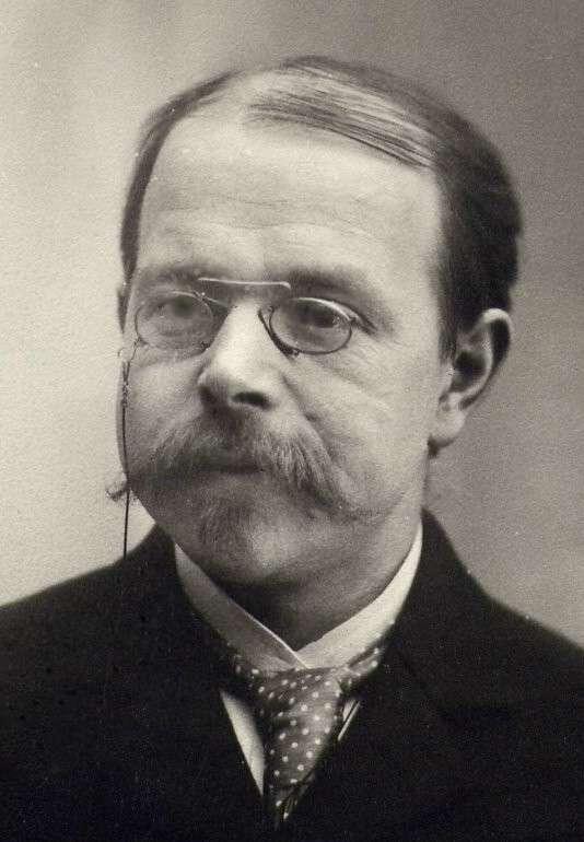 Walther Hermann Nernst (1864-1941) est un physicien et chimiste allemand, lauréat du prix Nobel de chimie de 1920, pour ses travaux en électrochimie, thermodynamique, chimie du solide et photochimie. © DP