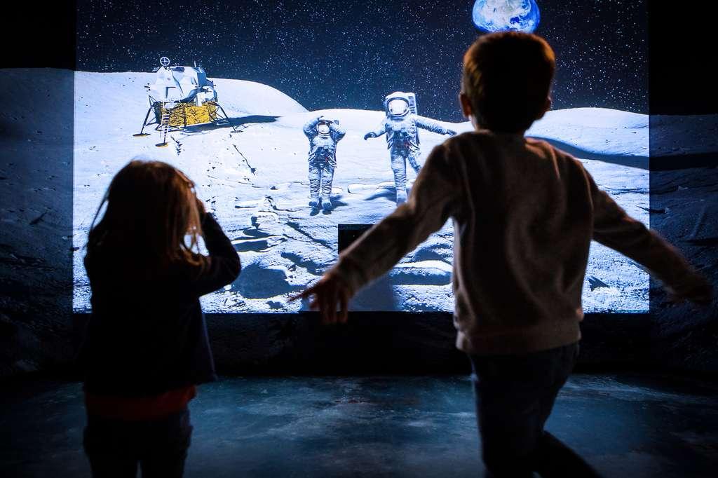 Cet été, Planète Océan vous invite, dans son espace «Univers», à revivre le programme Apollo. © Planète Océan