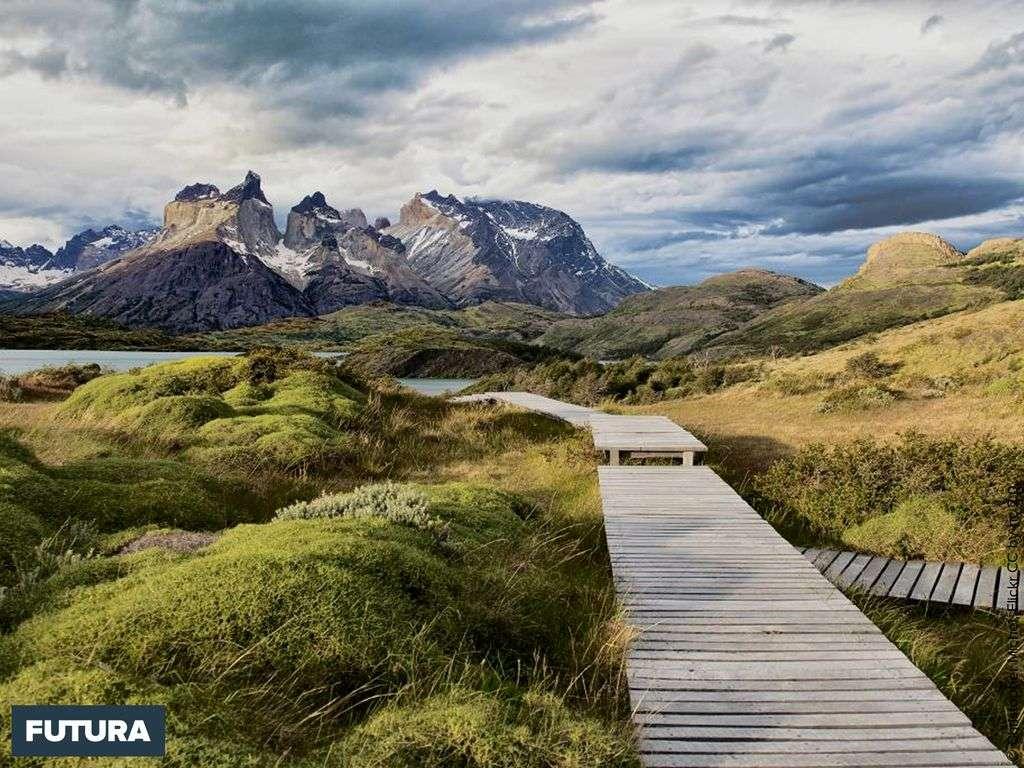 Dans les montagnes du Parc National Torres del Paine