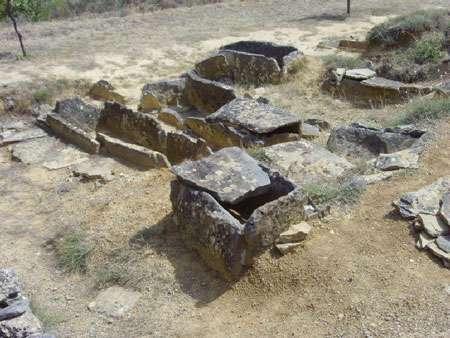 Nécropole de Moural des morts