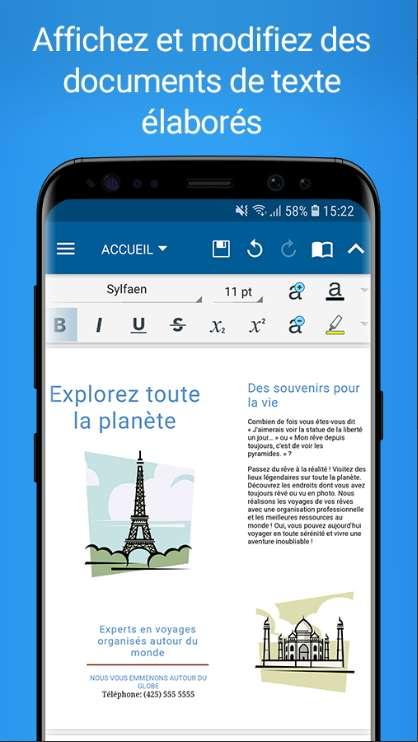 OfficeSuite a été téléchargé et installé plus de 200 millions de fois. © MobiSystems