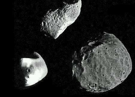 Les asteroïdes, un danger potentiel pour la Terre. © Inria/Sinus, Hervé Guillard