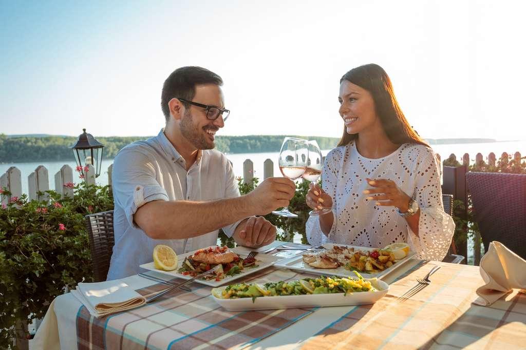 Les repas à deux, secret d'un couple heureux. © Ivan, Fotolia