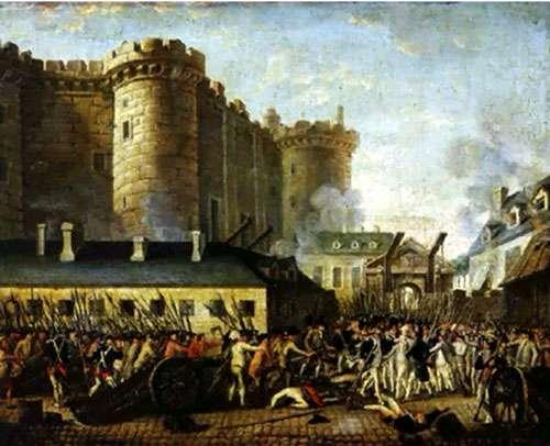 Prise de la Bastille : Juillet 1789 © Domaine public