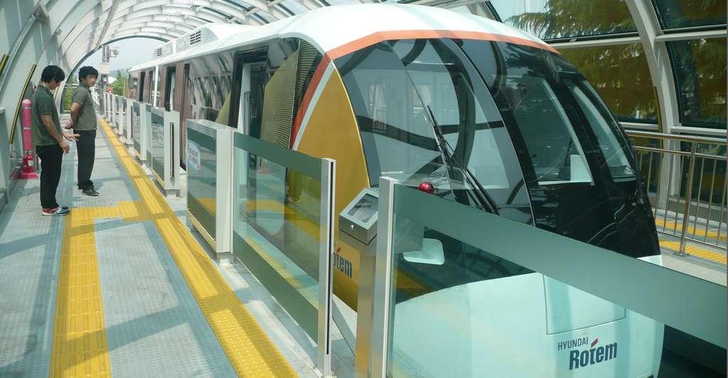 Un train Maglev à Daejeon. © Brûcke Osteuropa - CC BY-NC 2.0