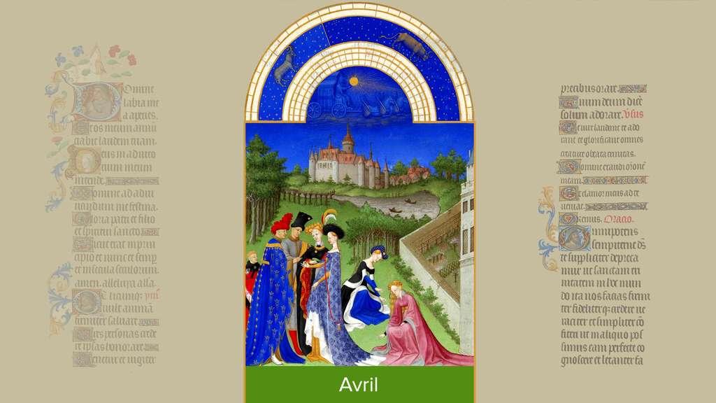 Avril : fiançailles à la cour du duc de Berry
