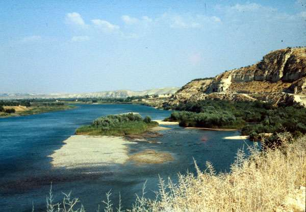 La vallée de l'Euphrate