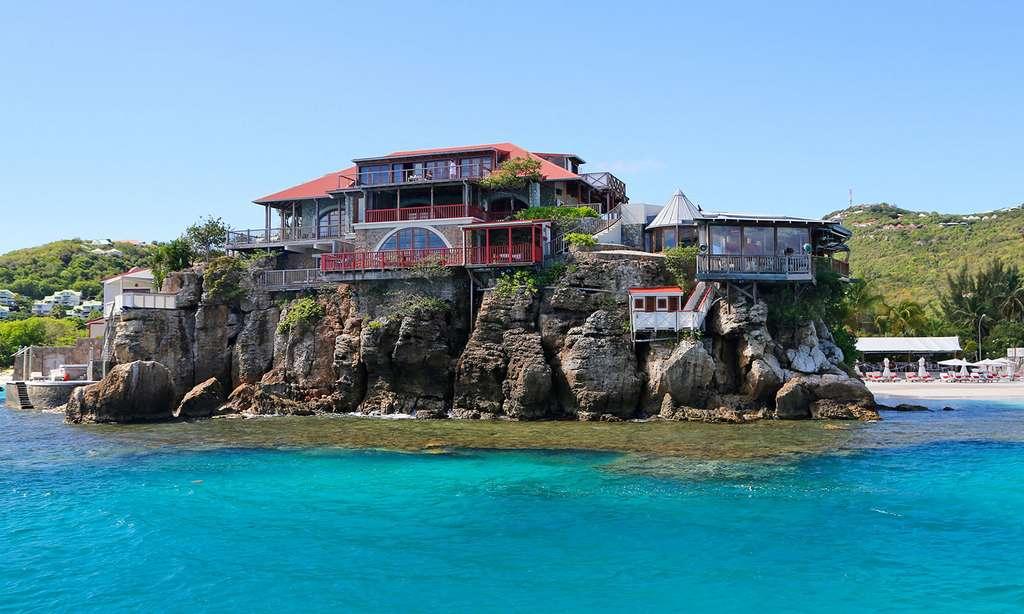 L'Eden Rock, hôtel légendaire dans la baie de Saint-Jean. © Antoine, tous droits réservés
