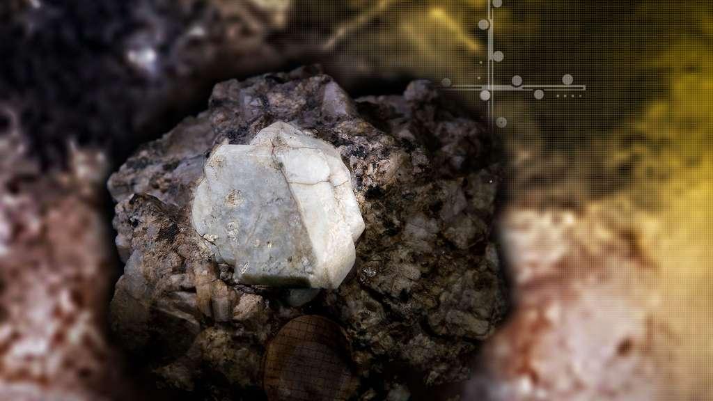 L'orthose, un minéral extraterrestre