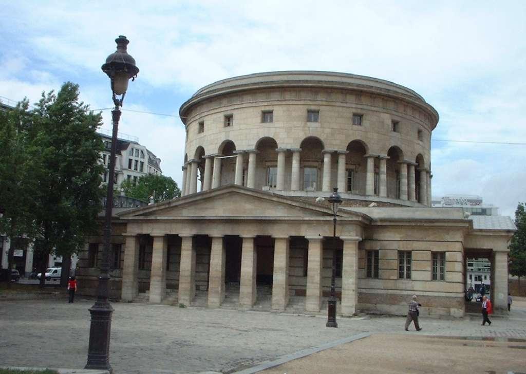 Rotonde de la Villette, l'une des barrières d'octroi dessinée par l'architecte Nicolas Ledoux. © Wikimedia Commons, domaine public