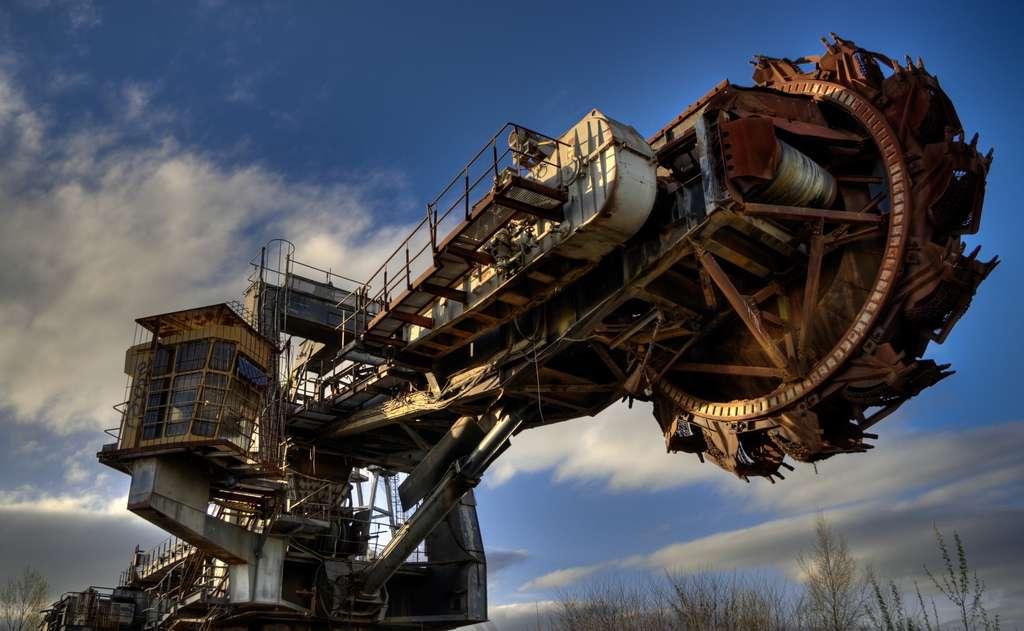 Fraiseuse à charbon. Cette source d'énergie serait encore disponible pour deux siècles si la consommation mondiale reste au niveau actuel. © Gregory Tonon, CC by-sa 2.0