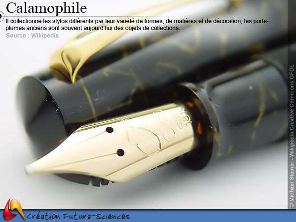 Calamophile - stylos