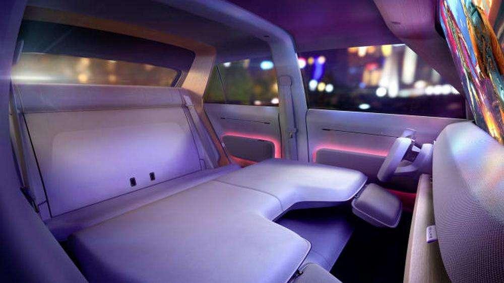 L'intérieur modulable de la Volkswagen ID.Life. © Volkswagen