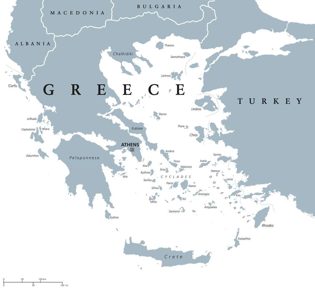 La particularité de la Grèce est notamment d'être constituée de centaines d'îles. Certaines sont incontournables. © Peter Hermes Furian, Fotolia