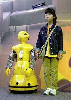 Wakamaru, le robot domestique de compagnie. © Mitsubishi