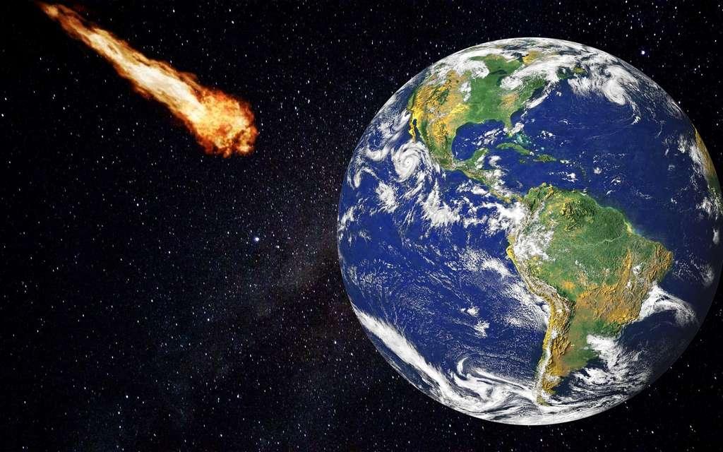Les météorites représentent un danger constant pour la Terre. © 127644 by Pixabay