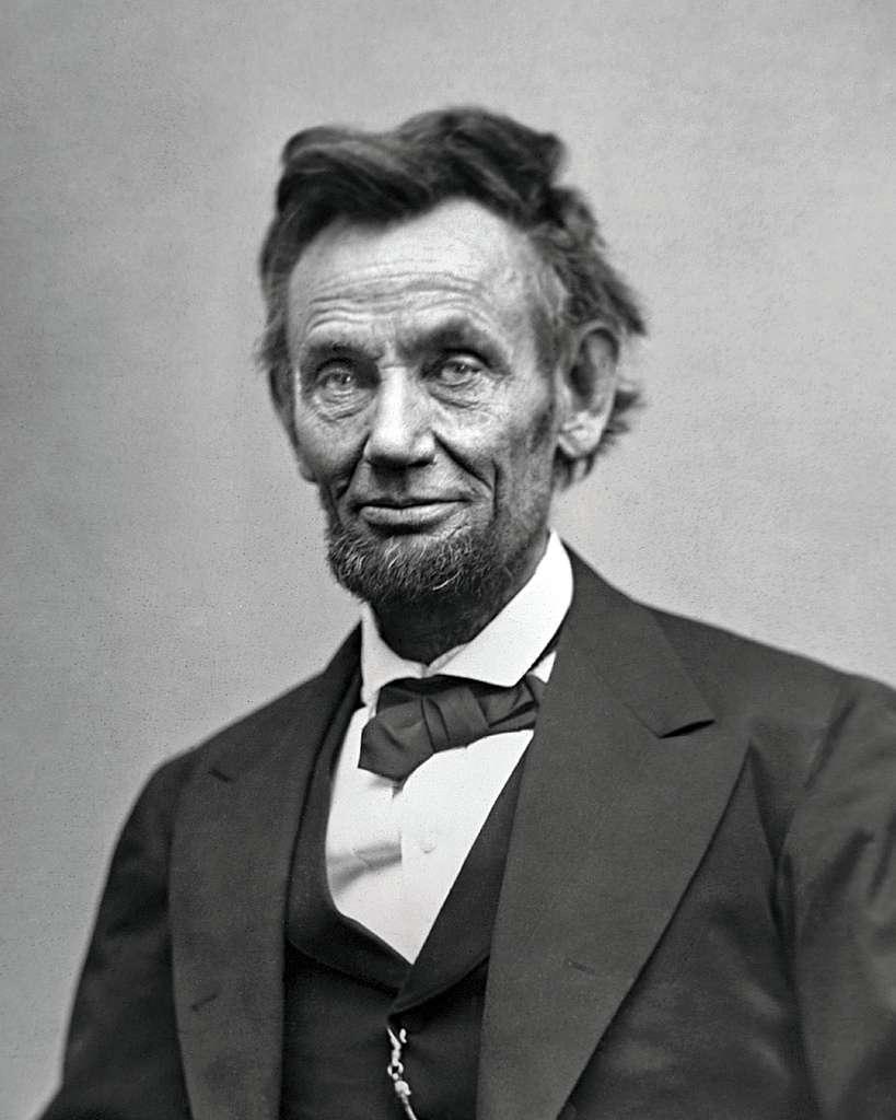 Portrait d'Abraham Lincoln, en février 1865. © Alexander Gardner, Bibliothèque du Congrès, Wikimedias Commons, Domaine public