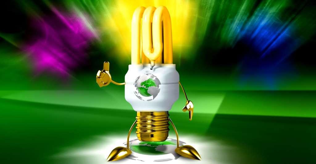 Le design des ampoules fluorescentes. © FS
