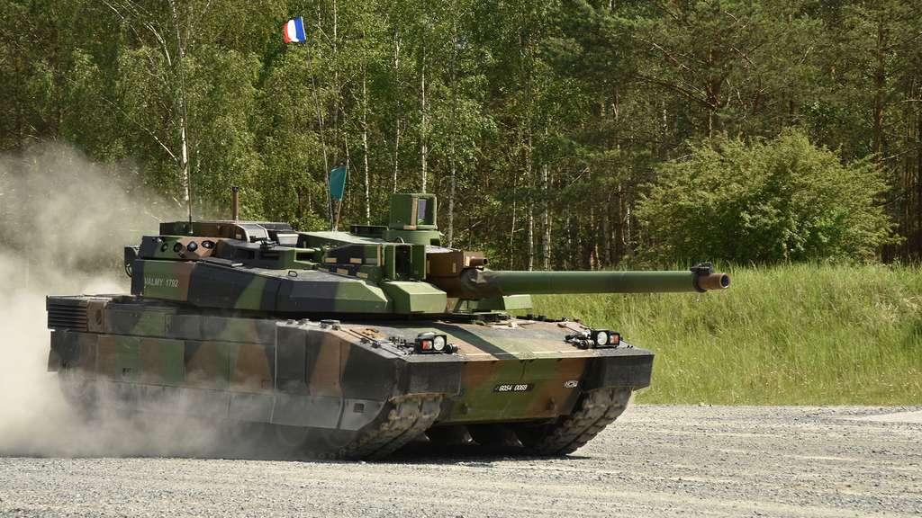 Le char Leclerc