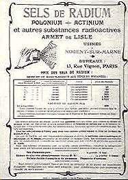 Les tarifs de l'usine d'Armet de Lisle ©ACJC