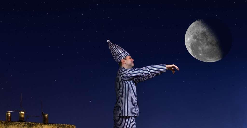 Le somnambuliste. © Milkovasa, Shutterstock