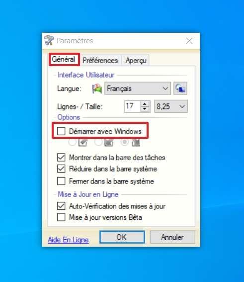 Définissez si PasteCopy.NET démarre en même temps que Windows. © SundryTools.com