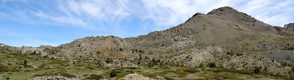 Autre vue des ophiolites du Chenaillet. © Florent Figon, Flickr, CC by-sa 2.0