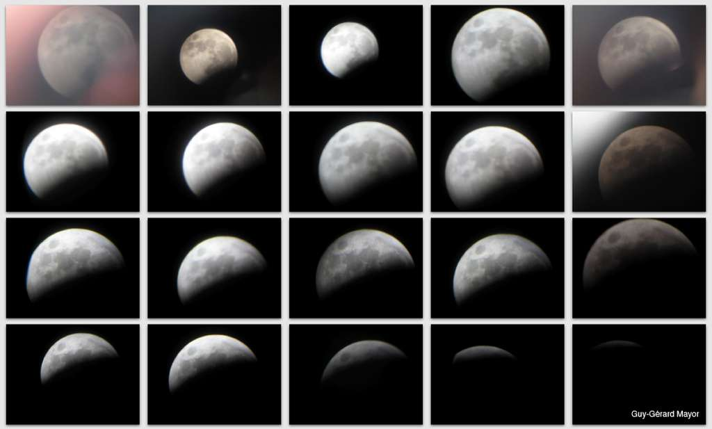 3 Mars 2007 - Eclipse totale de Lune