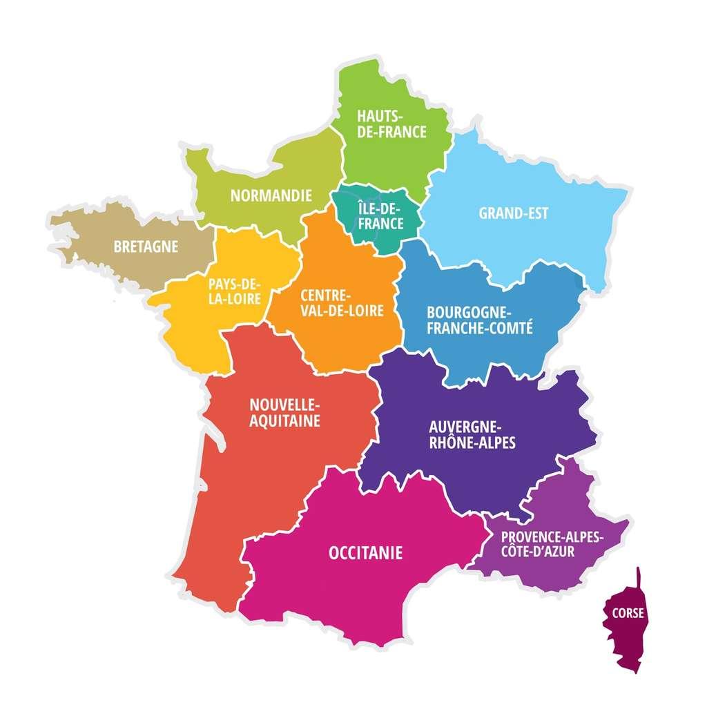 Les deux régions les plus peuplées seront toujours l'Île-de-France et l'Auvergne-Rhône-Alpes. © Julien Eichinger, Fotolia