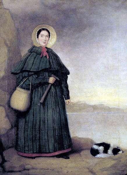 Mary Anning (1799–1847) était une collectionneuse de fossiles et une paléontologiste britannique. Elle avait découvert un fossile d'ichthyosaure à l'âge de 12 ans. © Wikipédia DP