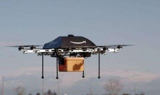 Le géant américain de la distribution en ligne Amazon espère devenir un acteur majeur dans l'utilisation commerciale des drones. © AFP photo, Amazon