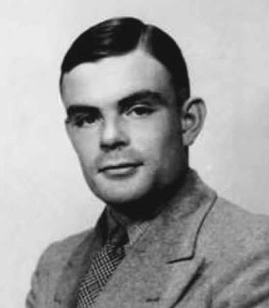 Portrait d'Alan Turing dans les années 1940. © Criticalgamer