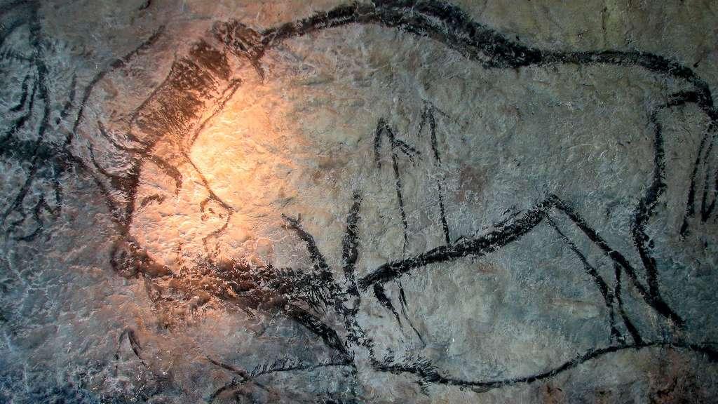 La grotte de Niaux et ses peintures pariétales, en Ariège