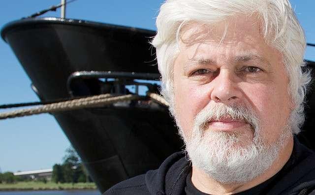 Le capitaine Paul Watson, fondateur de l'association Sea Shepherd qui s'oppose à la chasse à la baleine. © Guano, fotopedia, cc by 3.0